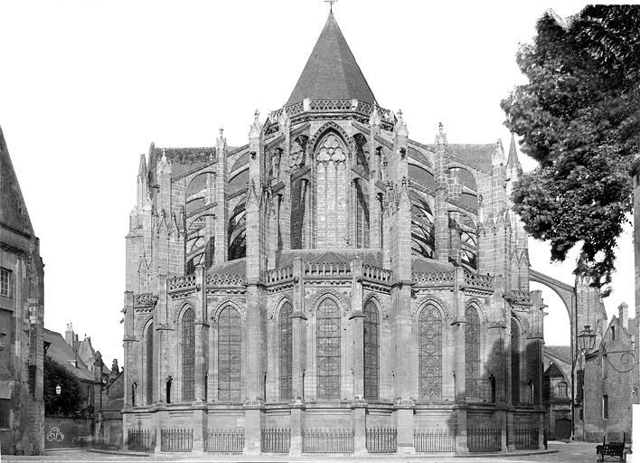 Cathédrale Saint-Gatien Ensemble est, Mieusement, Médéric (photographe),