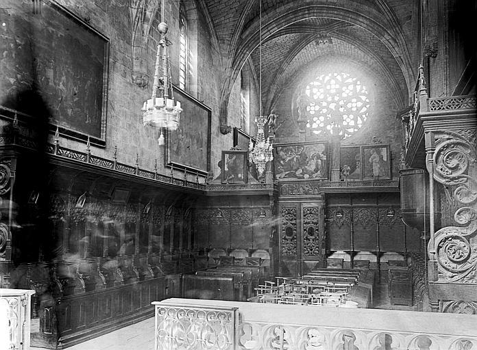 Chartreuse Saint-Sauveur (ancienne) Choeur, Enlart, Camille (historien),