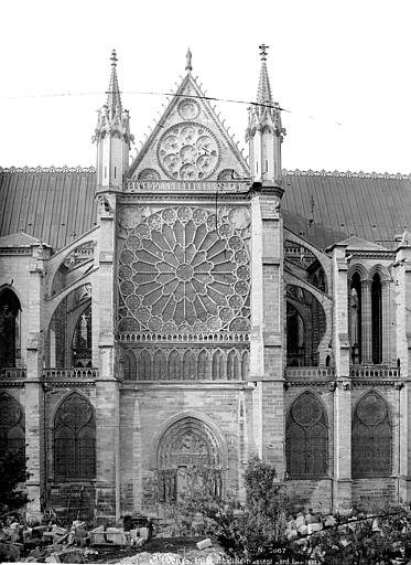 Basilique Saint-Denis Façade nord : Transept, Mieusement, Médéric (photographe),