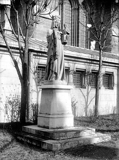 Cathédrale Notre-Dame Statue de Notre-Dame d'Igny, Lajoie, Abel,