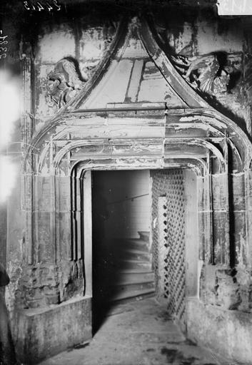 Maison Porte, partie inférieure, Manens,