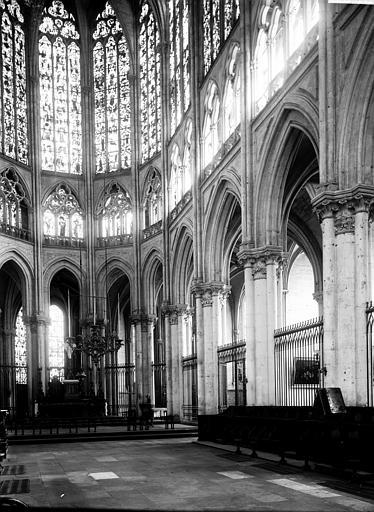Cathédrale Saint-Gatien Choeur, Enlart, Camille (historien),