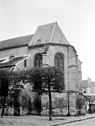 Eglise Abside, au sud, Chaine, Henri (architecte),