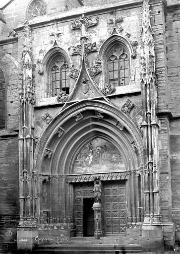 Eglise Saint-Siffrein ou ancienne cathédrale Portail de la façade sud, Mieusement, Médéric (photographe),