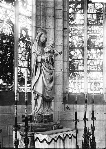 Cathédrale Notre-Dame , Enlart, Camille (historien),
