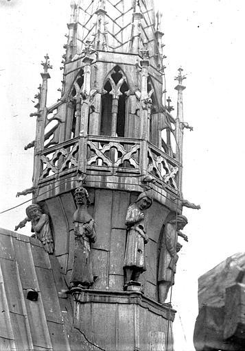 Cathédrale Notre-Dame Clocher à l'ange, partie inférieure, Lajoie, Abel,
