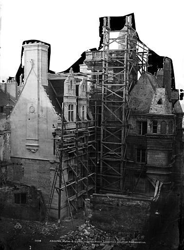 Hôtel Pincé Ensemble sud-est, Berthault (photographe),