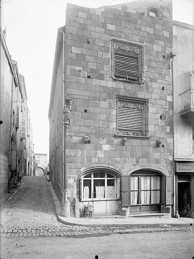 Hôtel Gaschier Façade sur rue, Jarron (photographe),