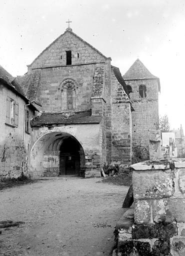 Eglise Saint-Sanctin ou Saint-Xantin Façade ouest, Chaine, Henri (architecte),