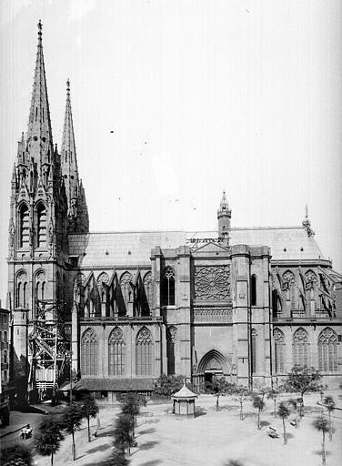 Cathédrale Notre-Dame Ensemble sud, Mieusement, Médéric (photographe),