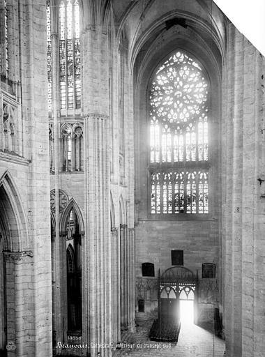 Cathédrale Saint-Pierre Vue intérieure du transept sud, Mieusement, Médéric (photographe),