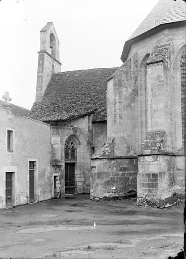Chartreuse Saint-Sauveur (ancienne) Transept sud et partie de l'abside, côté est, Manens,