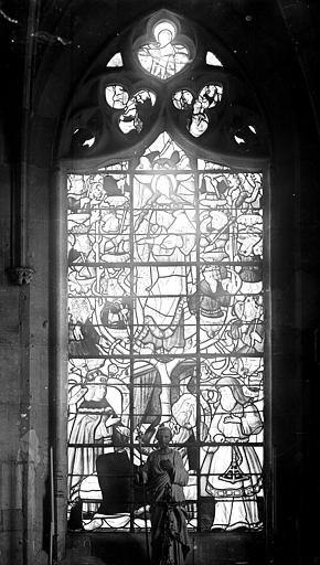 Eglise de la Madeleine Vitrail, Robert, Paul (photographe),