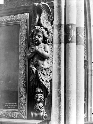 Eglise de Montferrand Retable, détail, Durand, Jean-Eugène (photographe),