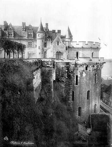 Château Aile Louis XII et tour des Minimes, côté est, Mieusement, Médéric (photographe),