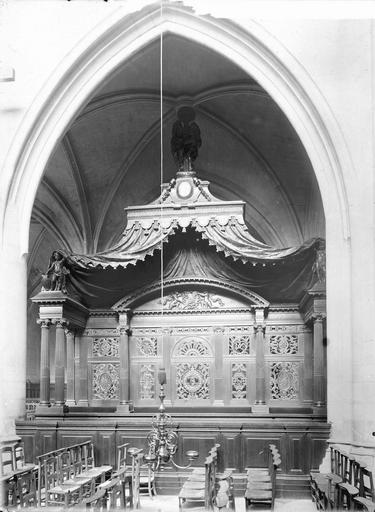 Eglise Saint-Germain-l'Auxerrois Banc d'oeuvres, Durand, Eugène (photographe),
