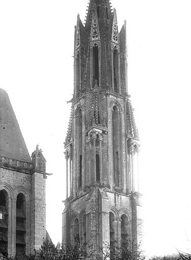 Cathédrale (ancienne) Clocher : Partie supérieure, Durand, Jean-Eugène (photographe),