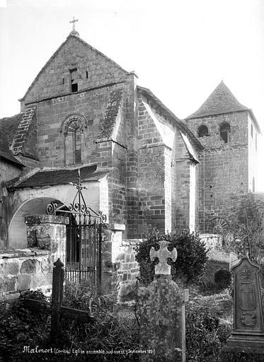 Eglise Saint-Sanctin ou Saint-Xantin Ensemble sud-ouest, Mieusement, Médéric (photographe),