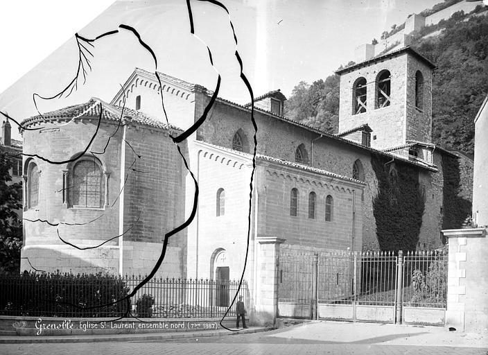Eglise Saint-Laurent Ensemble nord-est, Mieusement, Médéric (photographe),