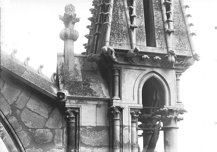 Cathédrale Notre-Dame Base d'un pinâcle de l'abside, ou Jugement, Lajoie, Abel,