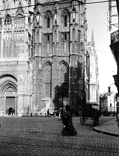 Cathédrale Angle sud-ouest, Chaine, Henri (architecte),