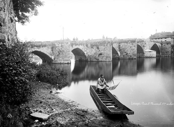 Pont Saint-Martial Premières arches, côté est, Mieusement, Médéric (photographe),