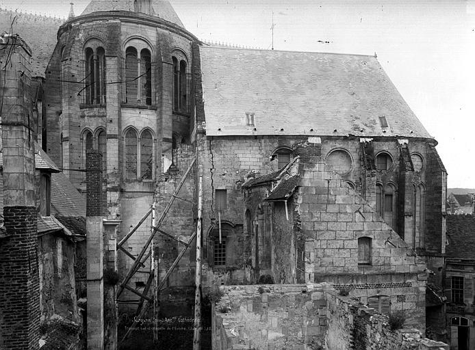 Cathédrale (ancienne) Transept sud, Durand, Eugène (photographe),