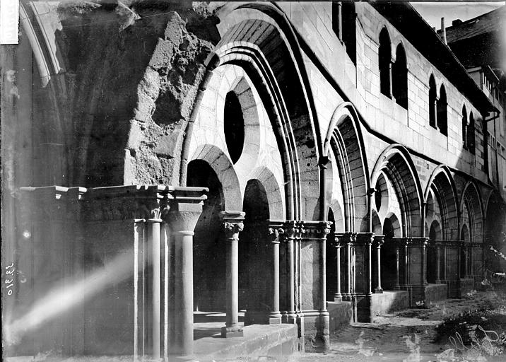Cathédrale Saint-Martin, actuellement Notre-Dame Cloître: baies, Enlart, Camille (historien),
