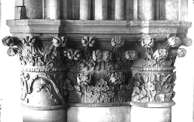 Cathédrale Notre-Dame Chapiteau, Lajoie, Abel,