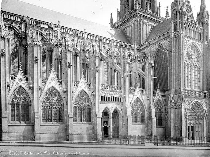 Cathédrale Notre-Dame Façade sud : partie ouest et transept, Mieusement, Médéric (photographe),