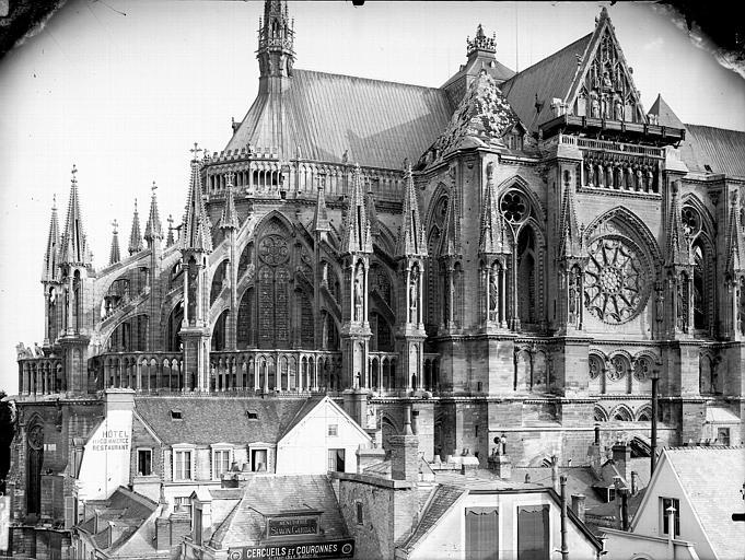 Cathédrale Notre-Dame Abside et bras nord du transept, Lajoie, Abel,