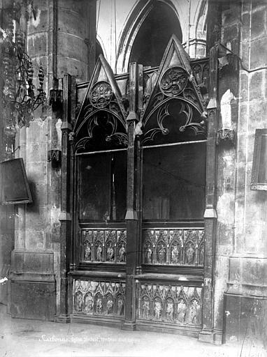 Cathédrale Saint-Just (ancienne) Tombeau, Mieusement, Médéric (photographe),