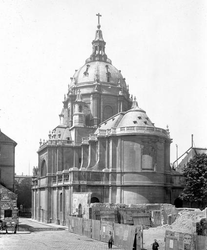 Chapelle de la Sorbonne Ensemble est, Durand, Eugène (photographe),