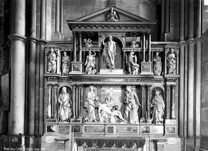 Cathédrale Notre-Dame Retable, Robert, Paul (photographe),