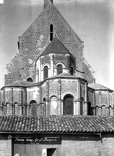 Eglise Sainte-Radegonde Abside, Durand, Eugène (photographe),