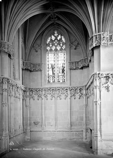 Château Chapelle : Vue intérieure du transept, Mieusement, Médéric (photographe),