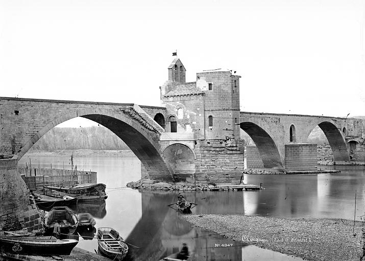 Pont Saint-Bénézet Vue d'ensemble, Mieusement, Médéric (photographe),