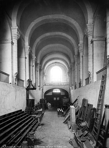 Abbaye du Ronceray (ancienne) Eglise, nef vue du choeur, Mieusement, Médéric (photographe),