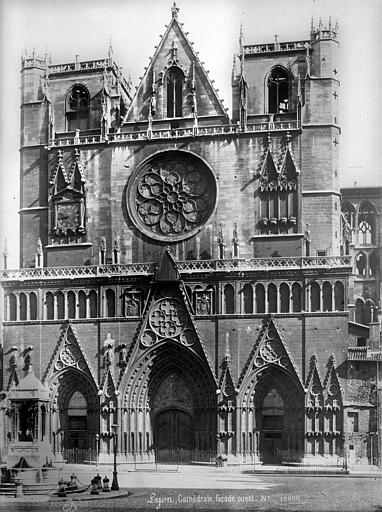 Cathédrale Saint-Jean Façade ouest, Mieusement, Médéric (photographe),