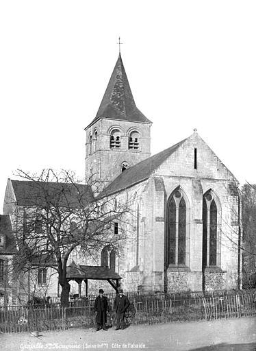 Abbaye de Graville-Sainte-Honorine (ancienne) Abside, côté, Mieusement, Médéric (photographe),
