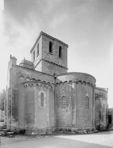 Eglise Ensemble est, Heuzé, Henri (photographe),