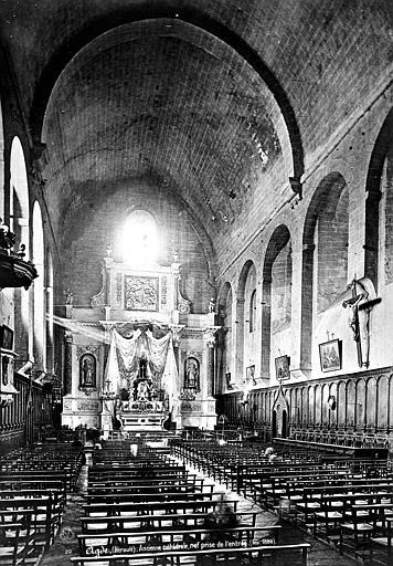 Cathédrale Saint-Etienne (ancienne) Nef, vue de l'entrée, Mieusement, Médéric (photographe),