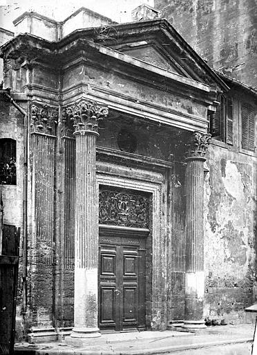 Eglise Saint-Martin (ancienne) Portail de la façade sud, Mieusement, Médéric (photographe),