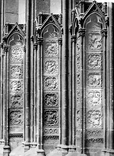 Cathédrale Notre-Dame Portail du transept nord dit des Libraires : ébrasement, Mieusement, Médéric (photographe),