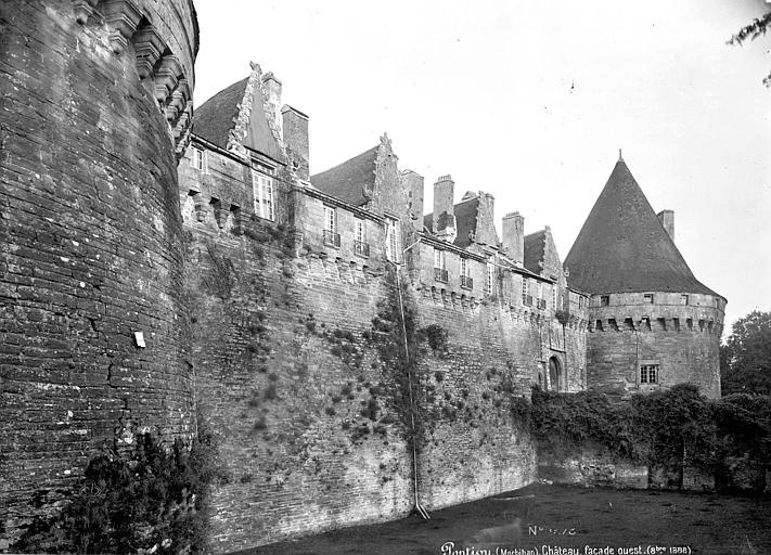 Château de Rohan Façade ouest, Mieusement, Médéric (photographe),