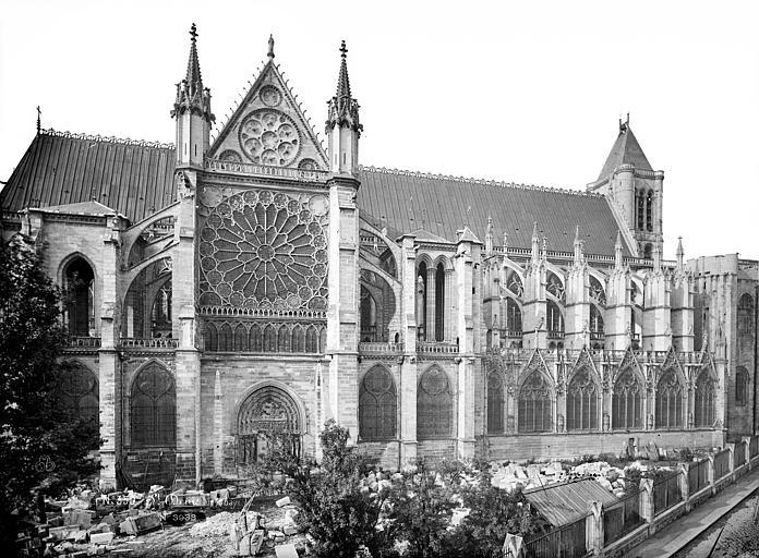 Basilique Saint-Denis Façade nord, Mieusement, Médéric (photographe),