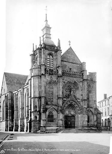 Eglise Saint-Pierre Façade, ensemble nord-ouest, Mieusement, Médéric (photographe),