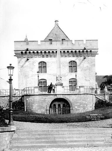 Hôtel de Ville Façade ouest, Durand, Eugène (photographe),