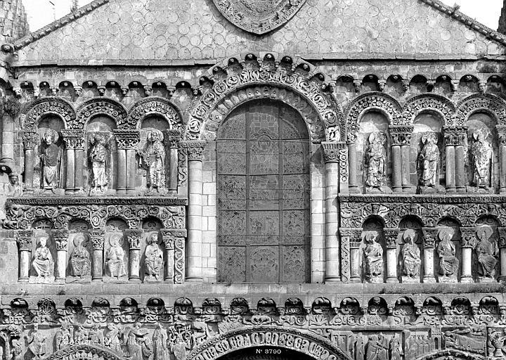 Eglise Notre-Dame-la-Grande Façade ouest : Partie médiane, Mieusement, Médéric (photographe),