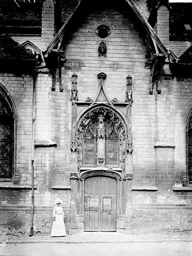 Eglise Saint-Nizier Portail, Enlart, Camille (historien),
